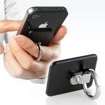 落下防止ホルダー!iPhone、ipad、スマートフォン用アイテム バンカーリング!