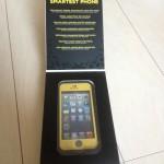 iPhone5s用の防水ケース LifeProof iPhone5s freを実際にシュノーケリングで動画撮影しました。
