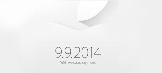 iPhone6発表?米アップルで9月9日新製品発表会