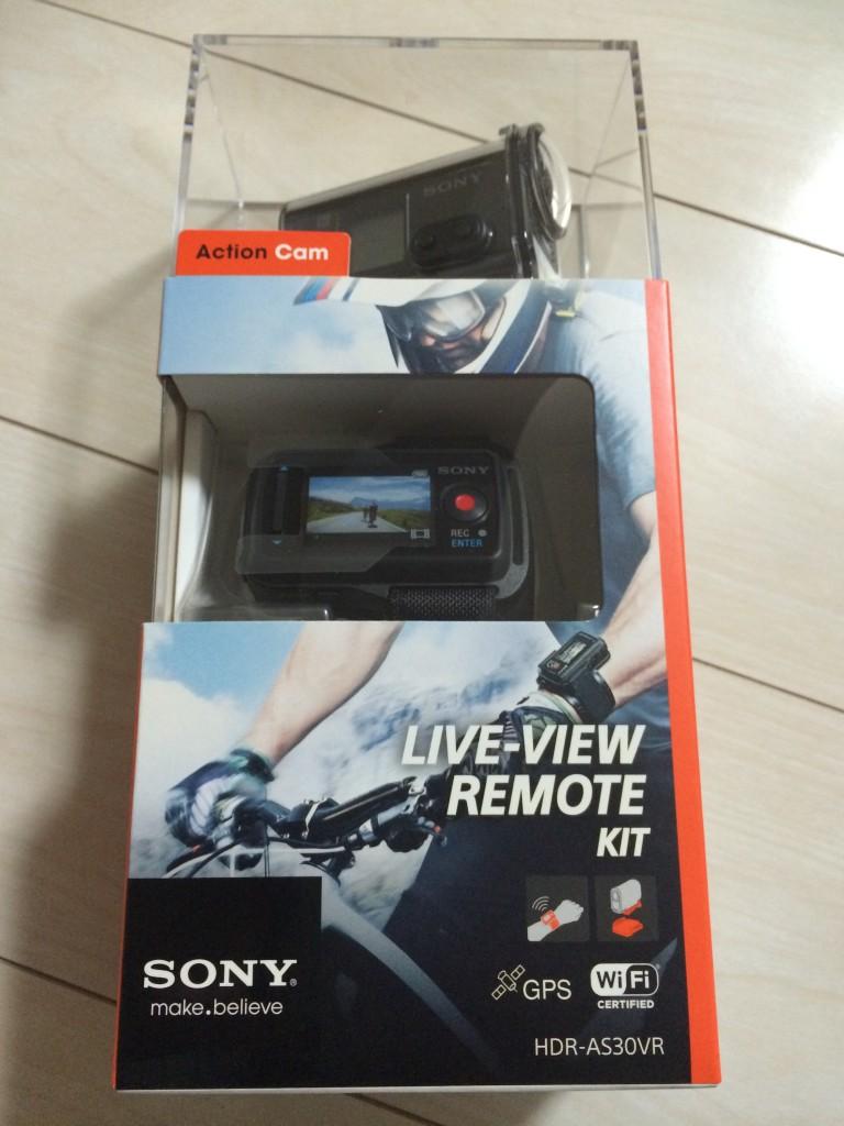 デジタルHDビデオカメラレコーダー アクションカムHDR-AS30VR